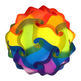 Mixed 1 Rainbow Puzzle Lamp 3D IQ lights