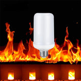 Accessories LED 5W 2 modes Flame Effect Fire Light Bulbs for Decoration Light