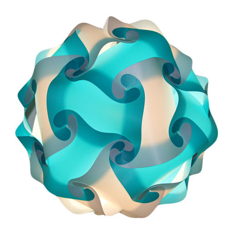Mixed Kit Teal / White Puzzle Light 3D IQ Lights