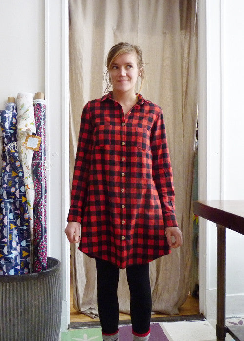Grainline Alder / Archer Shirtdress