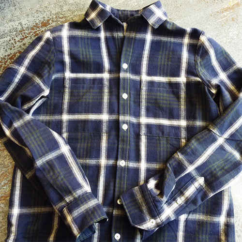 Plaid Flannel Grainline Archer (again)