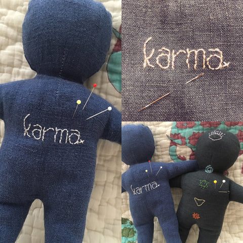 Bolt & Spool's karma doll