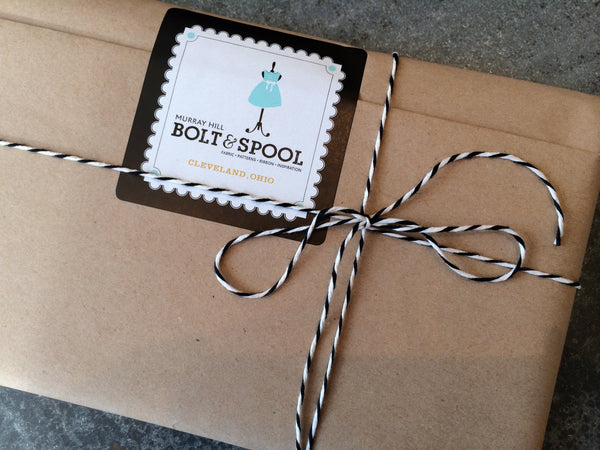 Bolt & Spool packaging