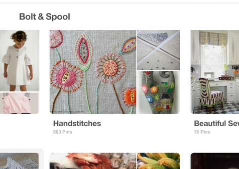 Bolt & Spool handstitches board on Pinterest