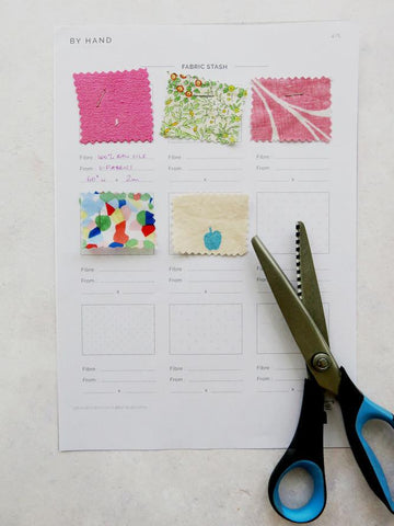 by hand london sewing planner