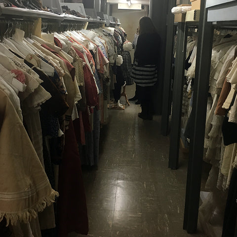 Costume and Textiles Storage at WRHS