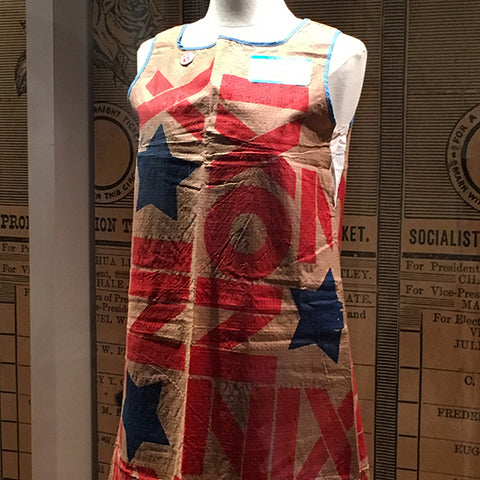 Nixon campaign dress WRHS collection