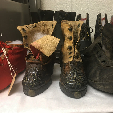 Shoes in the WRHS Collection