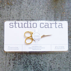 Studio Carta embroidery scissors