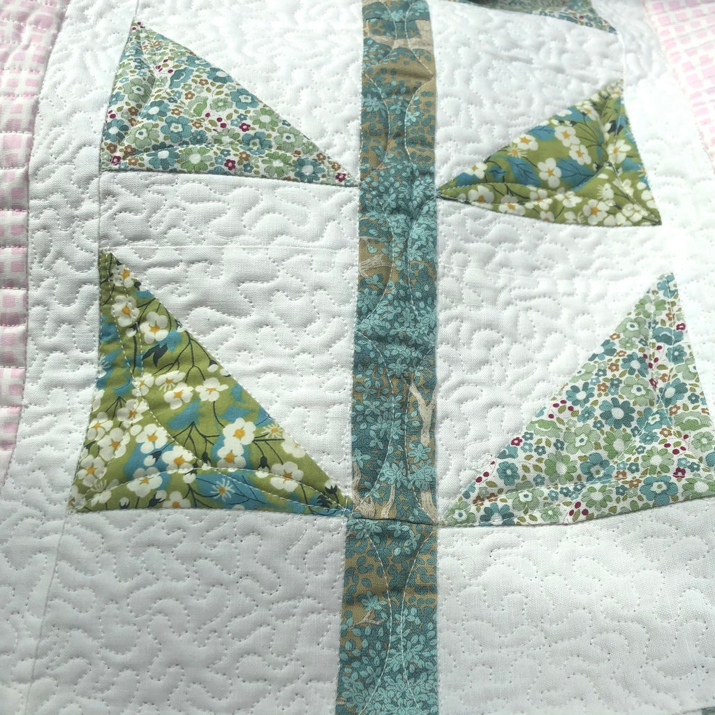 Tilda Birds and Sunflowers quilt from Sewing from the Heart book