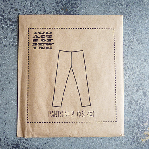 100 acts of sewing pants leggings sewing pattern