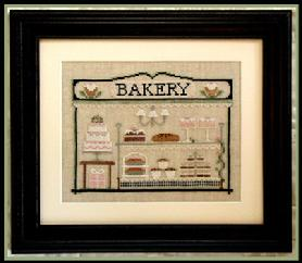 Counted Cross-Stitch Pattern: The Bakery