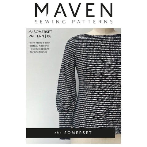 Maven Patterns : The Somerset T-shirt