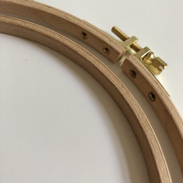 Nurge German Beech wood embroidery hoops