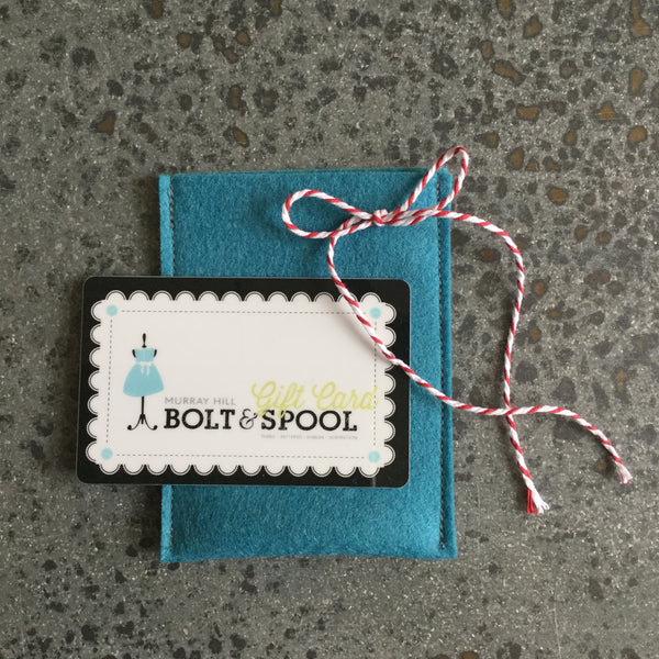 bolt & spool gift card