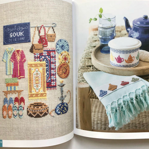 Sweet Mediterranean French Cross Stitch book By Veronique Enginger
