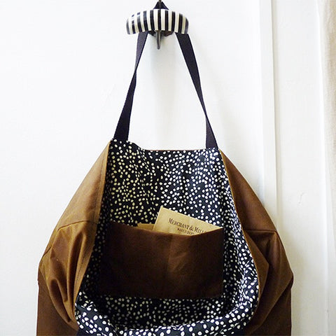 floppy tote bag stitch party