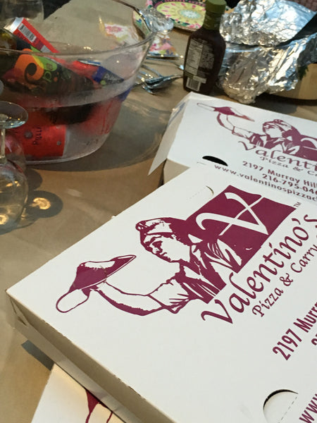 CLElittle italy Valentinos pizza boxes