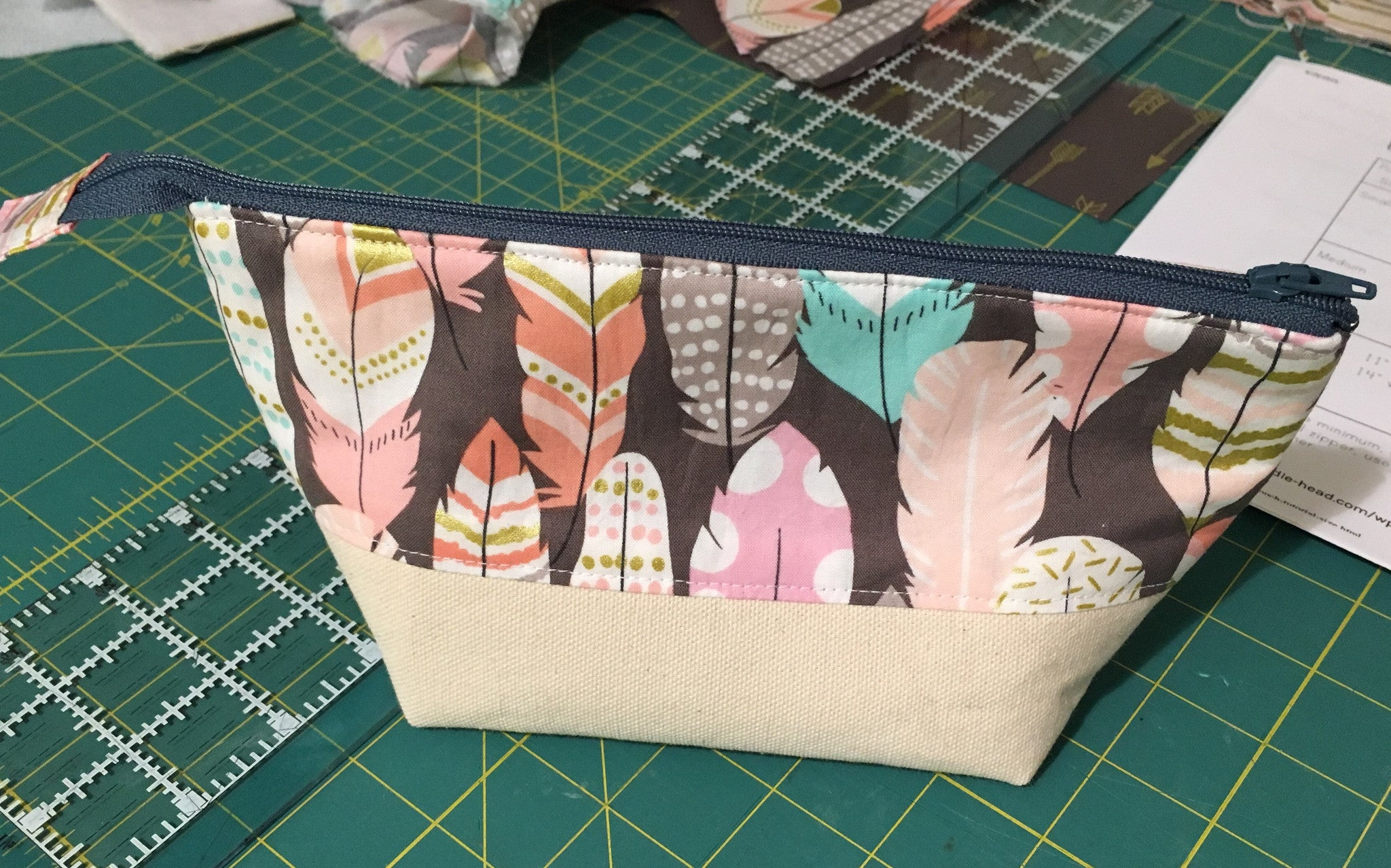 Private Stitch Party - Makeup Bag