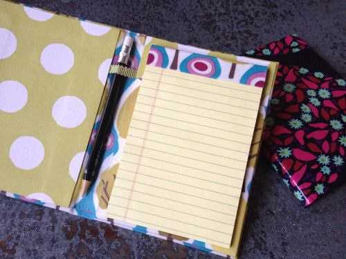 Private Stitch Party - French Cartonnage Notepad