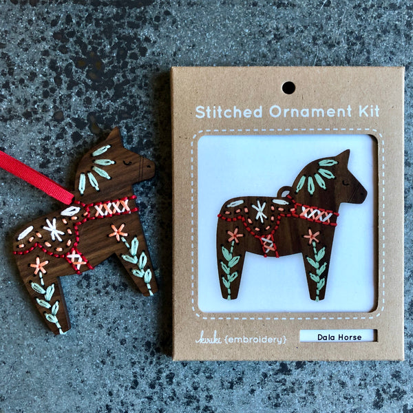 Stitched Ornament Kits
