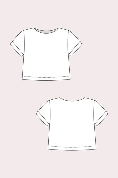 Named Clothing Inari Tee Dress and Crop Tee
