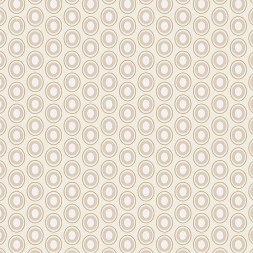 Art Gallery Fabrics : Oval Elements - French Vanilla