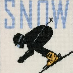 Michael Schwab sports artwork cross stitch kit