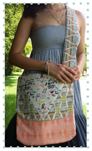 Free PDF Flyaway Messenger Bag pattern from Art Gallery Thumbnail
