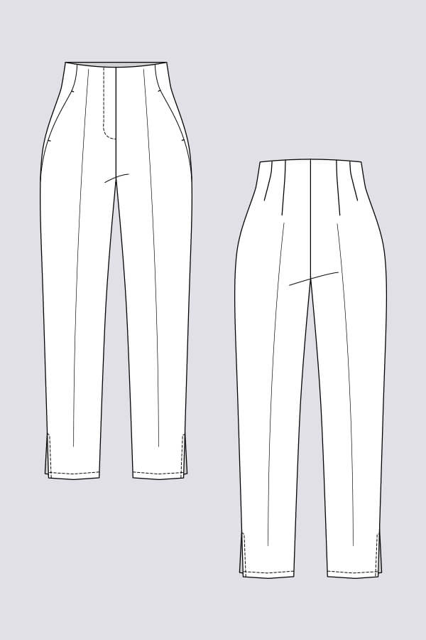 Named Clothing - Tyyni Cigarette Trousers Thumbnail