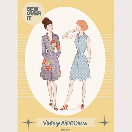 Sew Over It: Vintage Shirt Dress Pattern