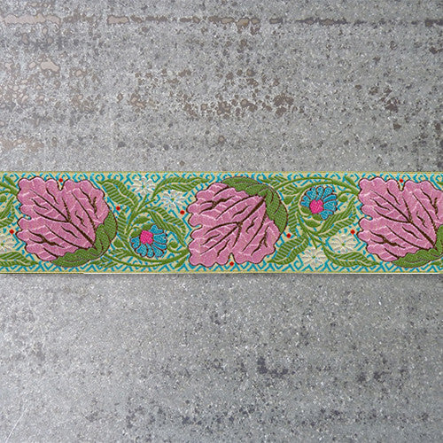 Amy Butler Ribbon : Alchemy Blossom jacquard ribbon