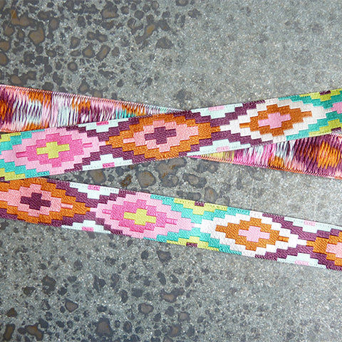 amy butler ribbon geometric spirit weave