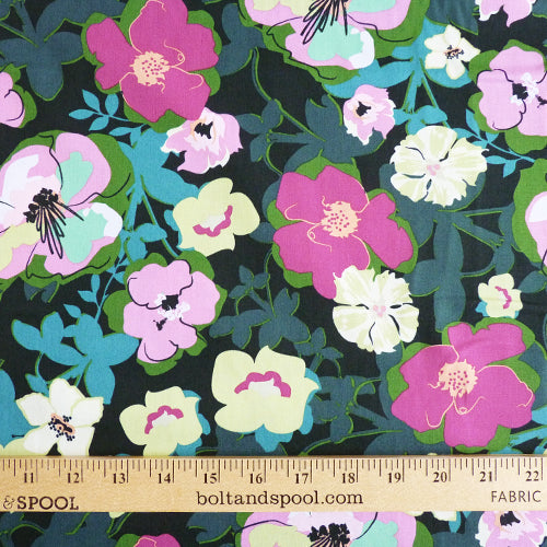 Art Gallery Fabrics : Rainforest Fusion - Blomma Garden Thumbnail
