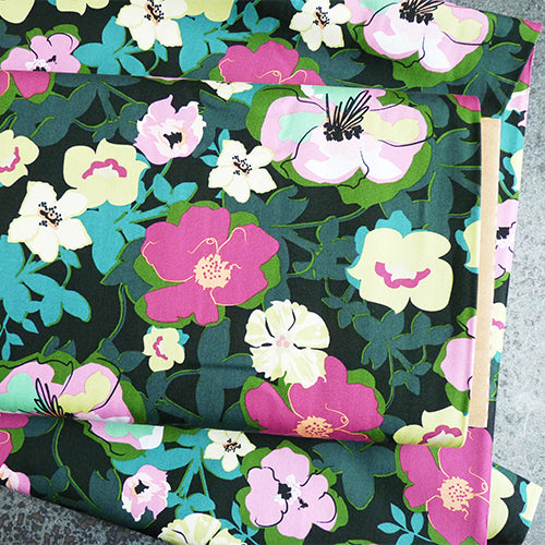art gallery fabrics quilting cotton flower print