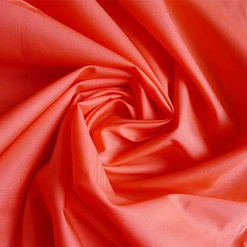 art gallery quilting cotton fabric hot living coral