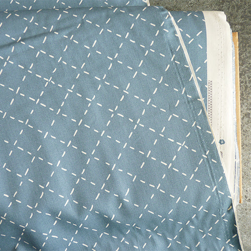 art gallery quilting cotton fabric coziness cardigan blue diamond