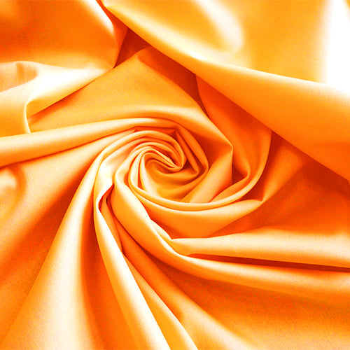 art gallery fabric solid quilting cotton orange