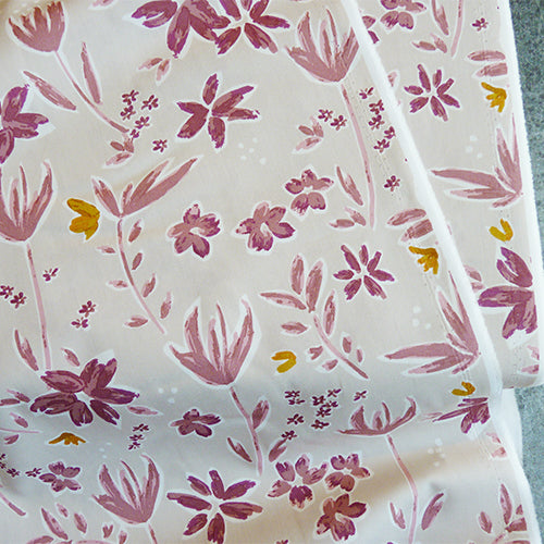 Art Gallery Fabrics : Mayfair - Blakes pink floral quilting cotton