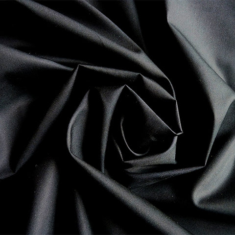 Art Gallery Fabrics : Pure Solids - Deep Black