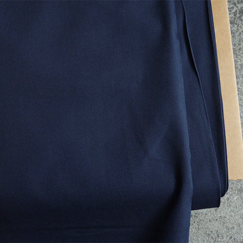 Art Gallery Fabrics : Pure Solids - Nocturnal navy blue quilting cotton