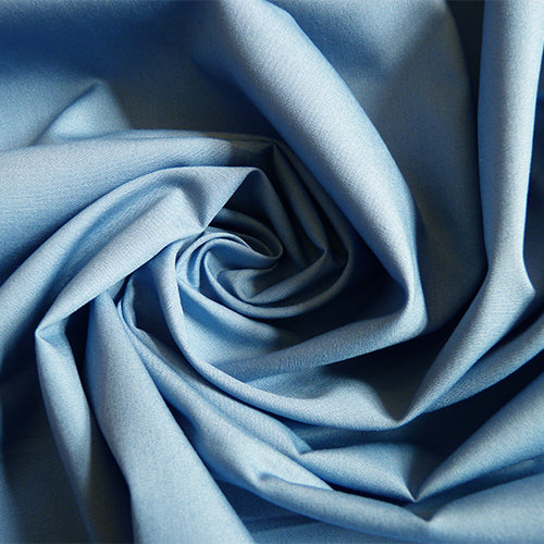 Art Gallery Fabrics : Pure Solids - Parisian Blue quilting cotton
