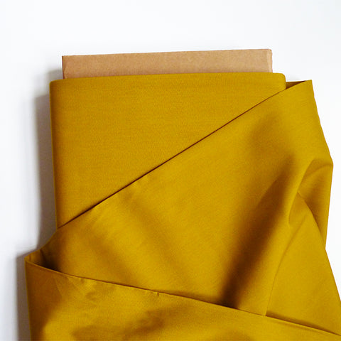 Art Gallery Fabrics : Pure Solids - Aurus mustard yellow quilting cotton