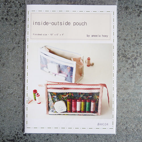 Aneela Hoey Patterns : Inside-Outside Pouch Thumbnail