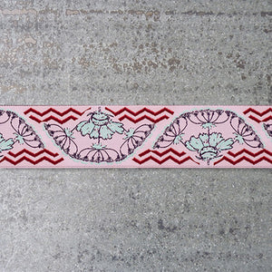 Anna Maria Ribbon : Yarrow Flower jacquard ribbon