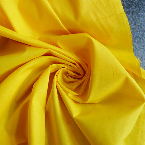 American Made Brand - Solid Gold yellow cotton fabric