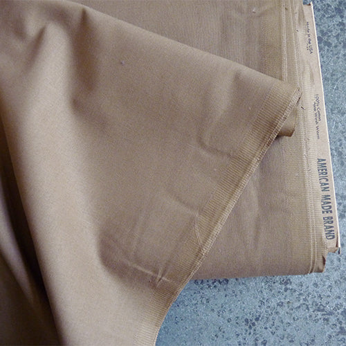 American Made Brand - Solid Taupe cotton fabric