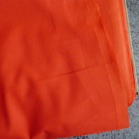 American Made Brand - Solid Tomato red cotton fabric