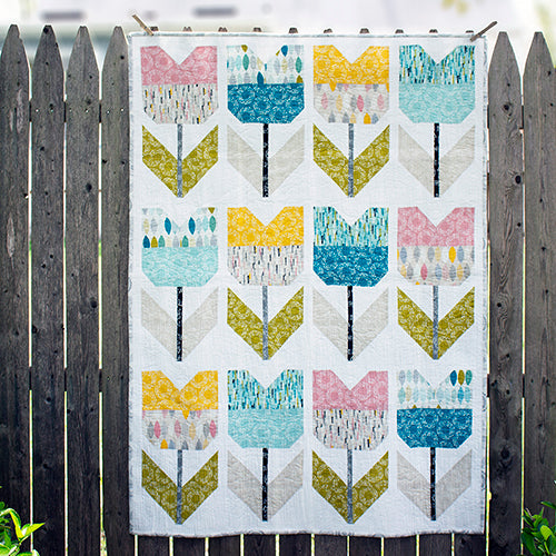 Free PDF Amsterdam Quilt Pattern from Cloud9