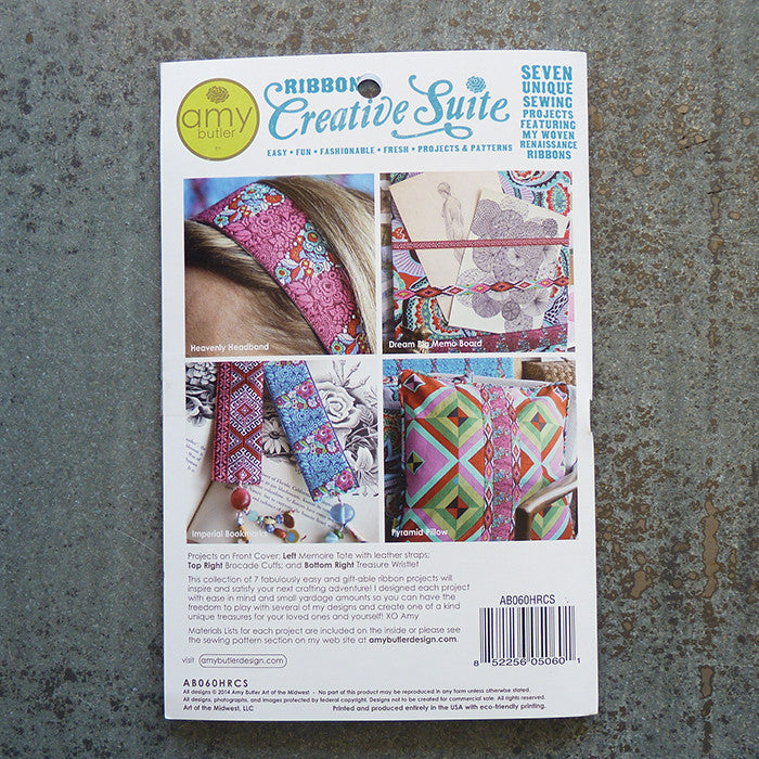 Amy Butler Patterns : Ribbon Creative Suite Pattern Thumbnail